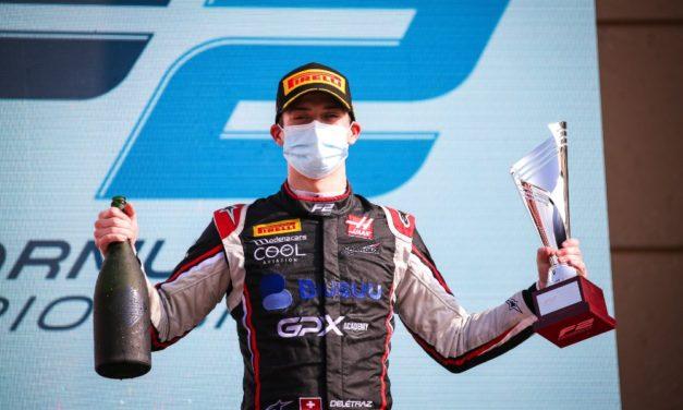 F2 v Bahrajnu: Skvělý Delétraz třetí, nešťastný Piquet nedojel