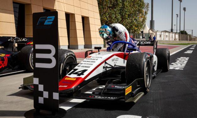 Skvělý začátek sezóny F2 pro Charouz Racing System: Beckmann si dojel pro třetí místo!